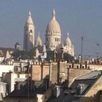 1 1 Sacré-Coeur du haut d'un immeuble rue Rochefoucault
