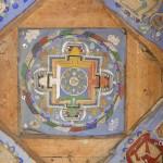 18 1 Mandala sous une voute Lamayuru