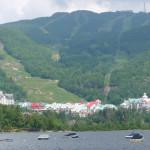 lac Mont Tremblant, aménagement de la montagne et villégiature