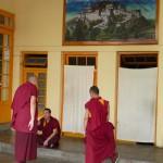 33 Dharamsala Lamasdevant le Pothala