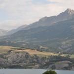 Lac de Serre-Ponçon parc des Ecrins Alpes