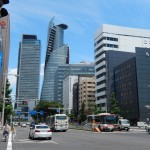 Je continue ma marche en quittant Nagoya Station