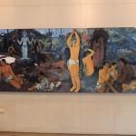 Copie de Gaugin à l'entrée du Musée