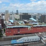 Vue du haut de l'Institut d'Urbanisme