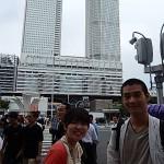 Mes deux guides Yuka et Masaki