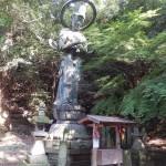 Divinité à l'entrée de Iyadaniji Temple