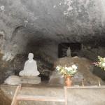 Grotte à l'intérieur du Temple Iyadaniji