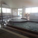 Une partie des bains eau chaude/froide... Onsen