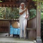 parcourt à pied  le Japon depuis 6 ans...