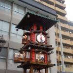 Horloge quartier Dogo Onsen