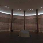 Intérieur du  Mémorial National pour la Paix