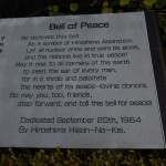 Cloche pour la paix