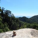 Vue en montant le mont Miseni
