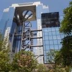 Immeuble futuriste, tours jardin flottant, Umeda