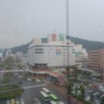 Centre de Tokushima (à travers une vitre)
