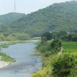 Une des nombreuses rivières, et les japonais savent gérer l'eau