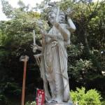 Myōō ou Deva statue