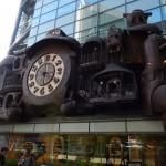 Horloge symbole du quartier Shiodome