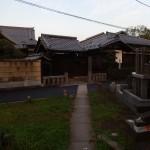 En lisière du cimetière Yanaka