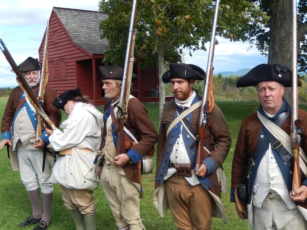 Américains devant la maison Neilson