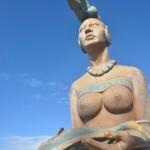 By by nous dit la déesse de la fertilité de Isla del Mujeres