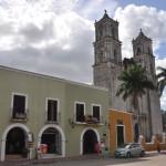 Centre péninsule Yucatan, sa cathédrale