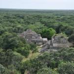 Ruines Ek'Balam et la forêt