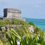 Ruines de Tulum en bordure des Caraïbes