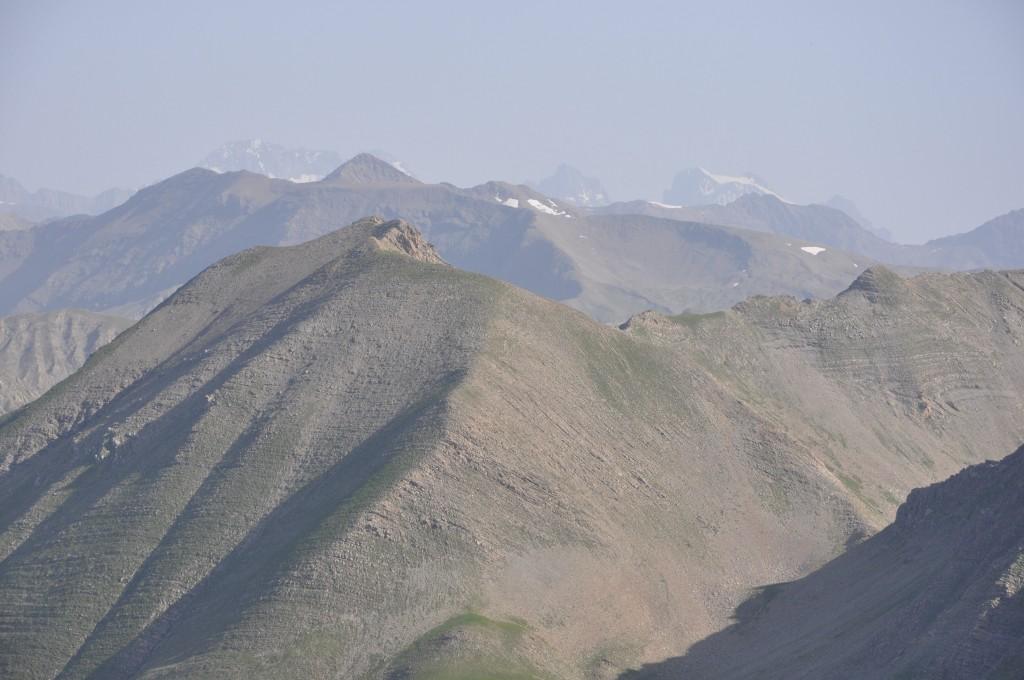 Vue du sommet Nord du Mont Guillaume (2623m)