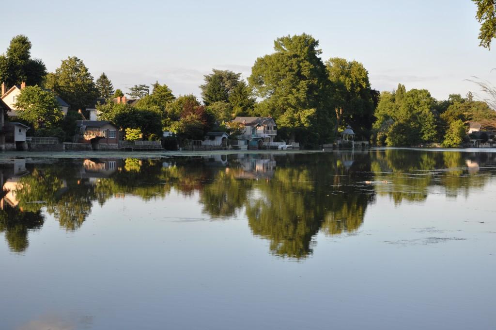 reflet sur le Loiret