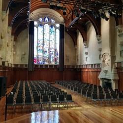 Salle de concert renovation récente