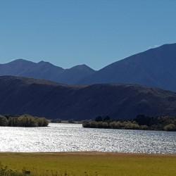 Lac en montant vers Arthur Pass