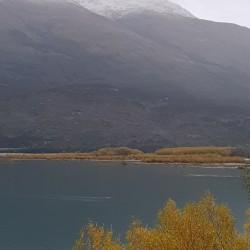 Lac et neige...