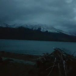 Lever devant ma tente lac Hawea