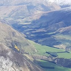 Zoom vers la vallée
