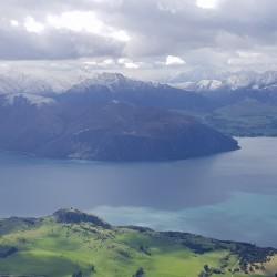 Lac Wanaka du Roys Peak