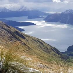 L'immensité, les détours du lac Wanaka du Roys Peak