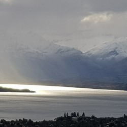 Le lac Wanaka du Mount Iron