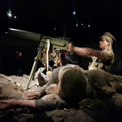 Exposition Gallipoli World War I.