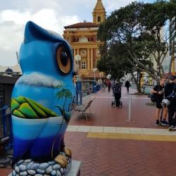 Quai au centre d'Auckland