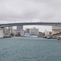 Retour au port de Naha