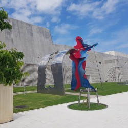 Préfectoral Museum, art garden