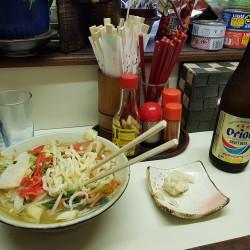 SOBA et salade