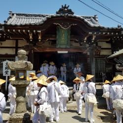 Groupe de pèlerin Temple 80