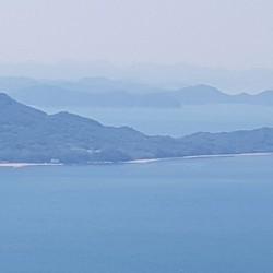 Vue du bras de mer qui sépare Shikoku de l'ile principale