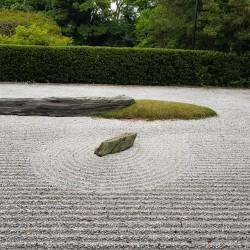 86 Shidoji temple, jardin Zen