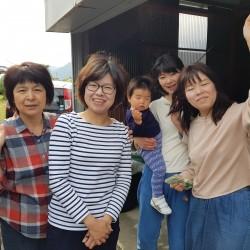 Mieko Mayu sa jeune soeur et belle soeur