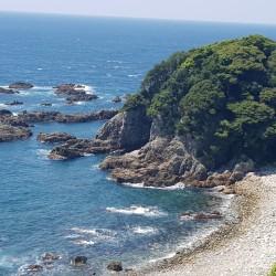 La côte en allant vers Iwamotoji 37
