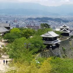 Vue du château de Matsuyama