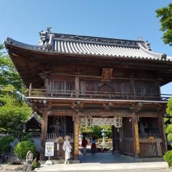 Porte d'entrée Temple 1 À côté de Tokushima